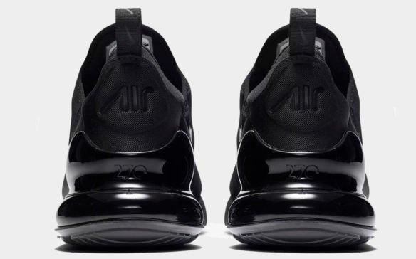 Фото Nike Air Max 270 черные - 2