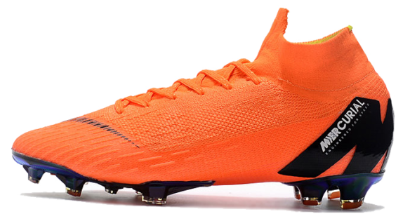 Фото Nike MERCURIAL SUPERFLY VI Оранжевые - 1